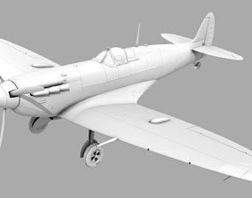 SUPERMARINE SPITFIRE MK Vb 3D model spitfire