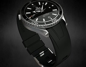 3D mechanical Omega Seamaster Watch