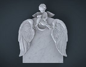 3D cncmodel cnctombstone Memorial tombstone