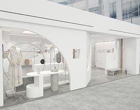 boutique 3D model Clothing Store 2