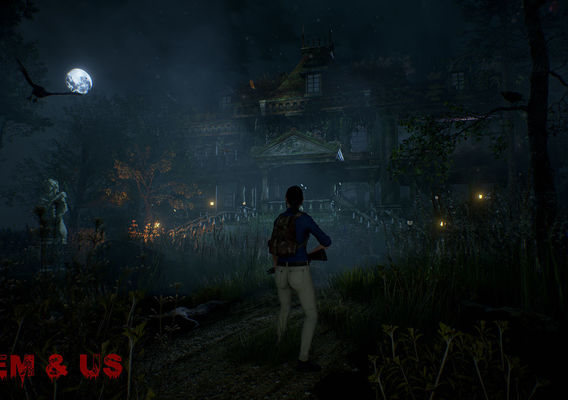 Them & Us - undead horror real-time scene