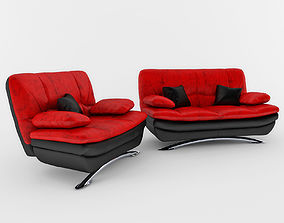 Sofa design photorealistic 3D model