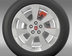 Fiat Doblo Cargo wheel 2015 3D