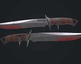 Knife Danger 3D model