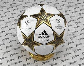 3D asset Champions League Ball