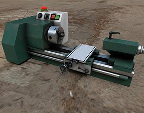 3D Benchtop Lathe