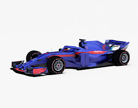 3D model Toro Rosso STR13 car