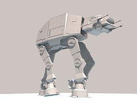 AT AT 3D printable model