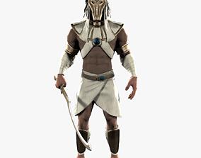 Egypt Warrior 3D asset