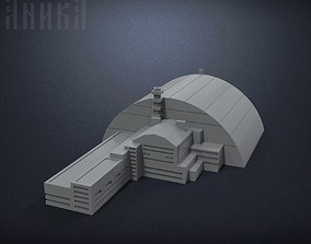 3D printable model Sarcophagus of power unit of the 3