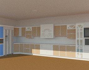 3D print model vray sketchup cabinet
