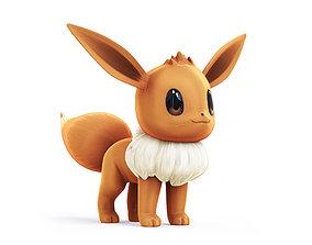 Pokemon Eevee 3D model