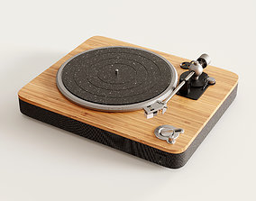 3D model House of Marley Stir It Up Turntable