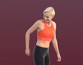 Ina 10281 - Running Athletic Woman 3D model