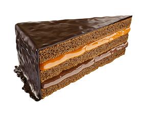 Chocolate Cake 3D model gastro