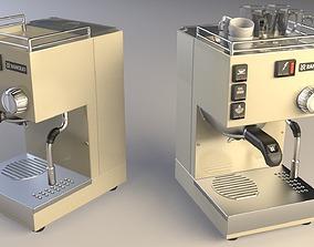 3D model Rancilio Espresso Machine