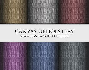 3D model Canvas Upholstery Seamless Textures Set