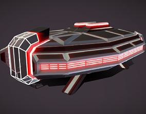3D asset LT-430 Landing transport