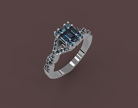 3D print model Ring With Diamonds fashion-and-beauty