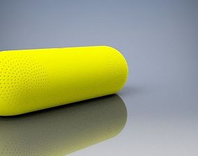 bluetooth speaker design 3D printable model