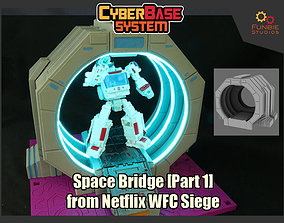 Space Bridge Part 1 from Netflix 3D printable model 2