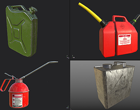 3D Oil Canisters PBR Pack