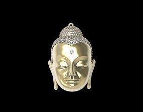 Head of Buddha 3D print model