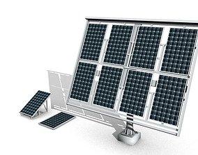 3D model solar power system