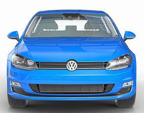 3D VW Golf VII 7