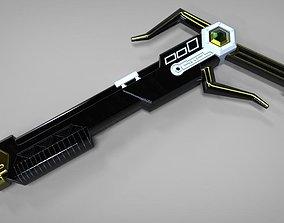 Magna Defender Blaster Power rangers 3D printable model 1