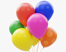 3D model realtime Balloons