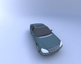 3D model 2000 Mercedes S-Class german