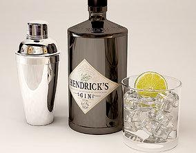3D Gin Hendrix gin