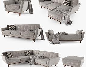 Joybird Hughes Sofa Collection realistic 3D