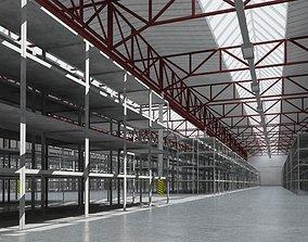 exterior 3D warehouse