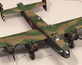 3D model Handley page halifax MK3 RAF