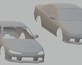 Nissan Silvia S15 Printable Body Car