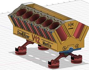V12 Block for 3Dprinter
