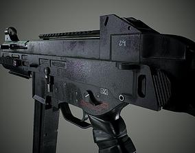 3D asset UMP 45 - Game Ready