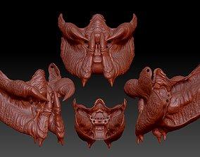 predator inspired facemask 3d 3D printable model