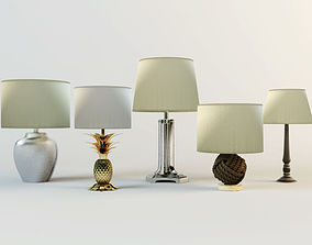 Table Lamps by ZARA HOME 4 3D model