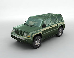 2007 Jeep Patriot Lowest Detail 3D model