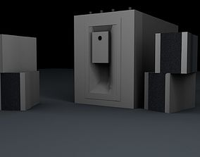 3D model Home Theater audio