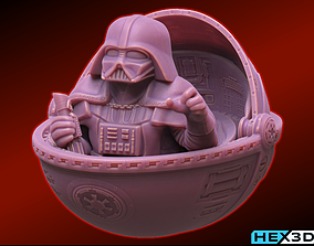 Baby Vader 3D printable model