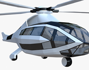 Bell FCX helicopter 3D