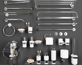 3D Bathroom accessories bathroom
