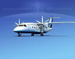 3D model Dornier Do-328-130 Galveston Air