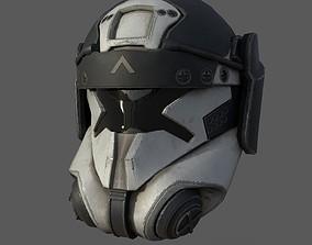 Scifi helmet ver 16 3D model