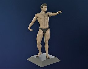 3D print model Athlete in a beautiful pose