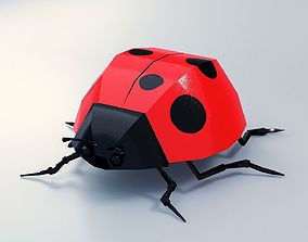 3D asset Abstract LowPoly PBR LoveBug